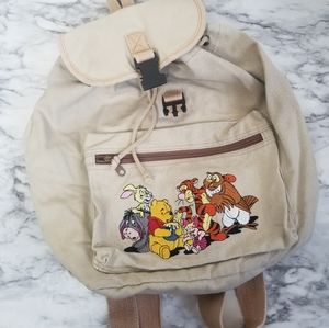 Disney winnie the pooh small backpack bag